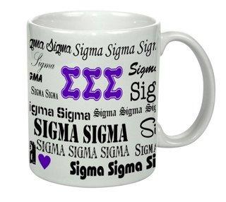 Sigma Sigma Sigma Collage Coffee Mug