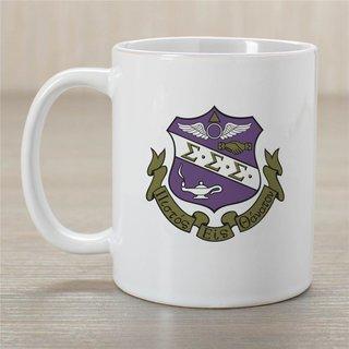 Sigma Sigma Sigma Crest Coffee Mug