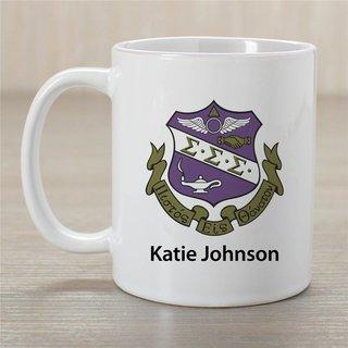 Sigma Sigma Sigma Crest Coffee Mug - Personalized!