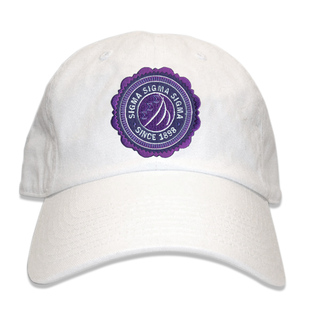 Sigma Sigma Sigma Crest Seal Hat