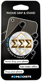 Sigma Sigma Sigma Diamond Pop Socket