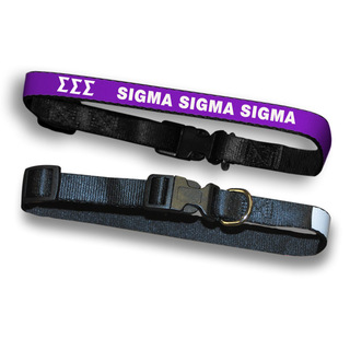 Sigma Sigma Sigma Dog Collar
