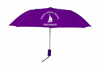 Sigma Sigma Sigma Mascot Umbrella