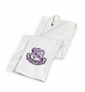DISCOUNT-Sigma Sigma Sigma Golf Towel