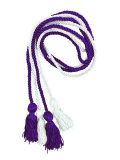 Sigma Sigma Sigma Greek Graduation Honor Cords