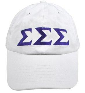 Sigma Sigma Sigma Greek Letter Hat