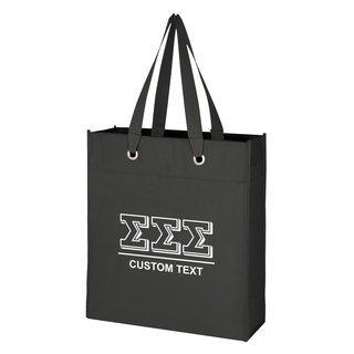Sigma Sigma Sigma Grommet Tote Bag