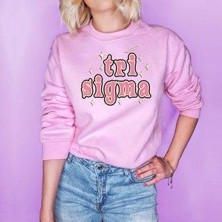 Sigma Sigma Sigma Halo Crew Sweatshirt