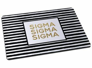 Sigma Sigma Sigma Striped Mousepads