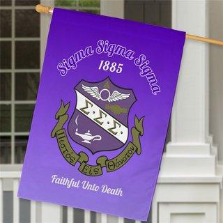Sigma Sigma Sigma House Flag