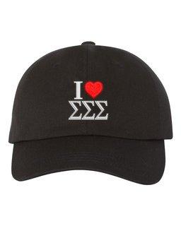 Sigma Sigma Sigma I Love Hat