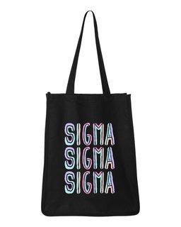 Sigma Sigma Sigma Jumbo All In Tote Bag