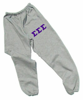 Sigma Sigma Sigma Lettered Thigh Sweatpants