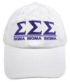 Sigma Sigma Sigma World Famous Line Hat