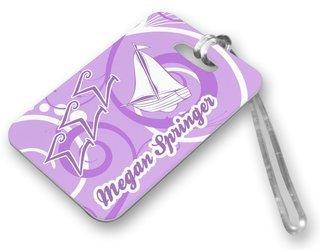 Sigma Sigma Sigma Luggage Tags