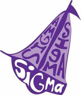 Sigma Sigma Sigma Mascot Greek Letter Sticker