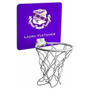 Sigma Sigma Sigma Mini Basketball Hoop