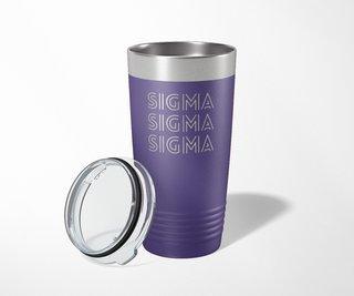 Sigma Sigma Sigma Modera Tumbler