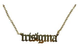 Sigma Sigma Sigma Old English Necklaces