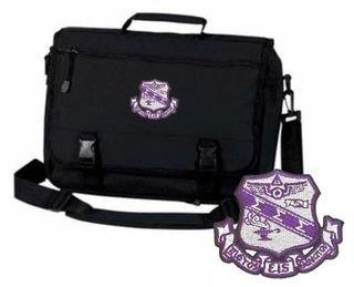 DISCOUNT-Sigma Sigma Sigma Emblem Briefcase