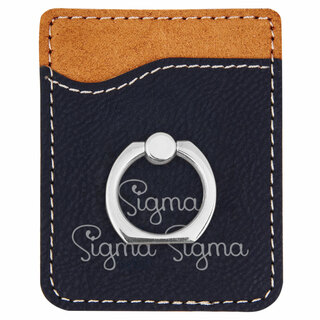 Sigma Sigma Sigma Phone Wallet with Ring