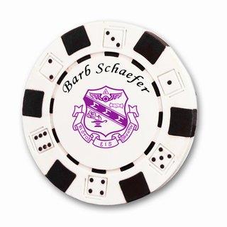 Sigma Sigma Sigma Poker Chips