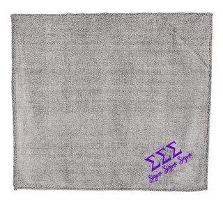 Sigma Sigma Sigma Sherpa Blanket