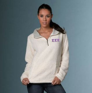Sigma Sigma Sigma Sherpa Pullover