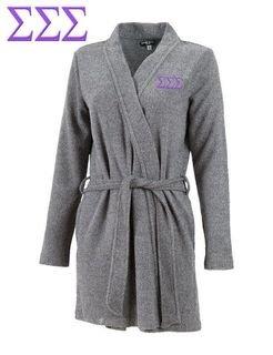 DISCOUNT-Sigma Sigma Sigma Sorority Cozy Robe