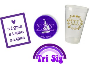 Sigma Sigma Sigma Sorority Large Pack $15.00
