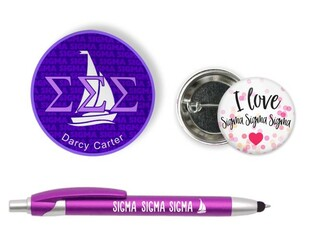 Sigma Sigma Sigma Sorority Pack $5.99