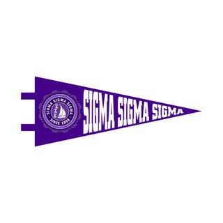 Sigma Sigma Sigma Wall Pennants