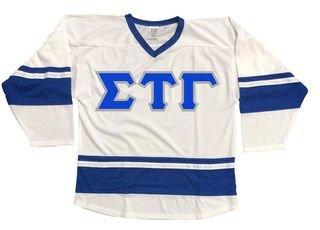 DISCOUNT-Sigma Tau Gamma Breakaway Lettered Hockey Jersey