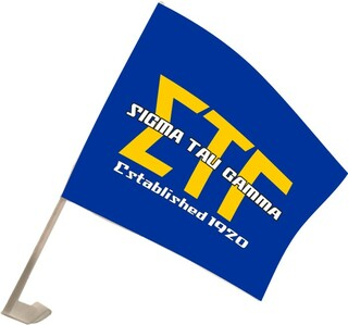 Sigma Tau Gamma Car Flag