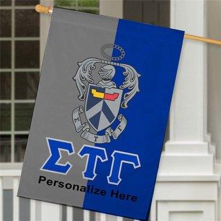 Sigma Tau Gamma Crest House Flag