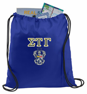 Sigma Tau Gamma Crest - Shield Cinch Sack