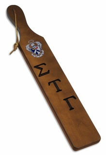 Sigma Tau Gamma Custom Fraternity Paddle