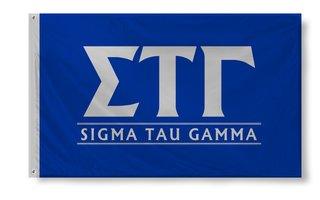 Sigma Tau Gamma Custom Line Flag