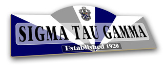 Sigma Tau Gamma Display Sign