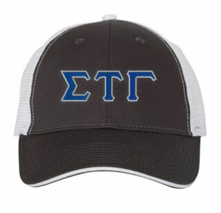 Sigma Tau Gamma Double Greek Trucker Cap