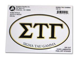 Sigma Tau Gamma Euro Decal