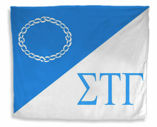 Sigma Tau Gamma Flag Giant Velveteen Blanket