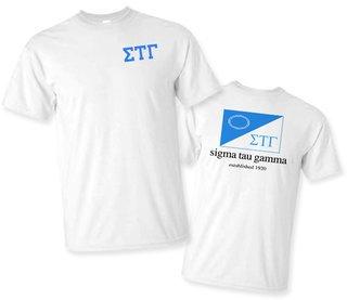 Sigma Tau Gamma Flag T-Shirt