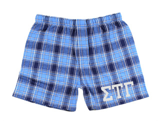 Sigma Tau Gamma Flannel Boxer Shorts