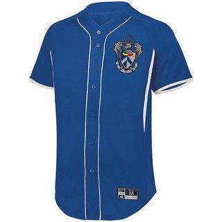 Sigma Tau Gamma Game 7 Full-Button Baseball Jersey