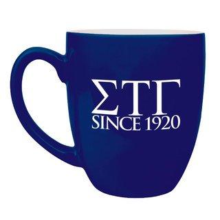 Sigma Tau Gamma Greek Bistro Mug