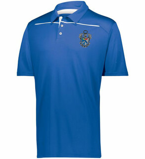 Sigma Tau Gamma Greek Crest Emblem Defer Polo