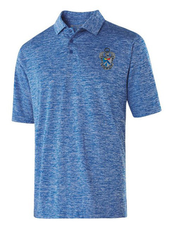 Sigma Tau Gamma Greek Crest Emblem Electrify Polo