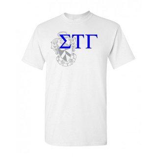 Sigma Tau Gamma Greek Crest - Shield T-Shirt