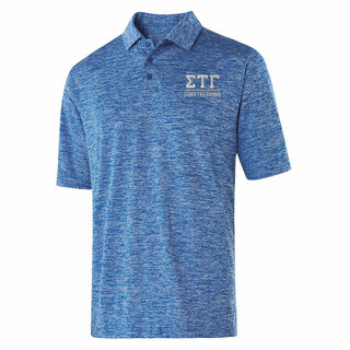 Sigma Tau Gamma Greek Letter Electrify Polo